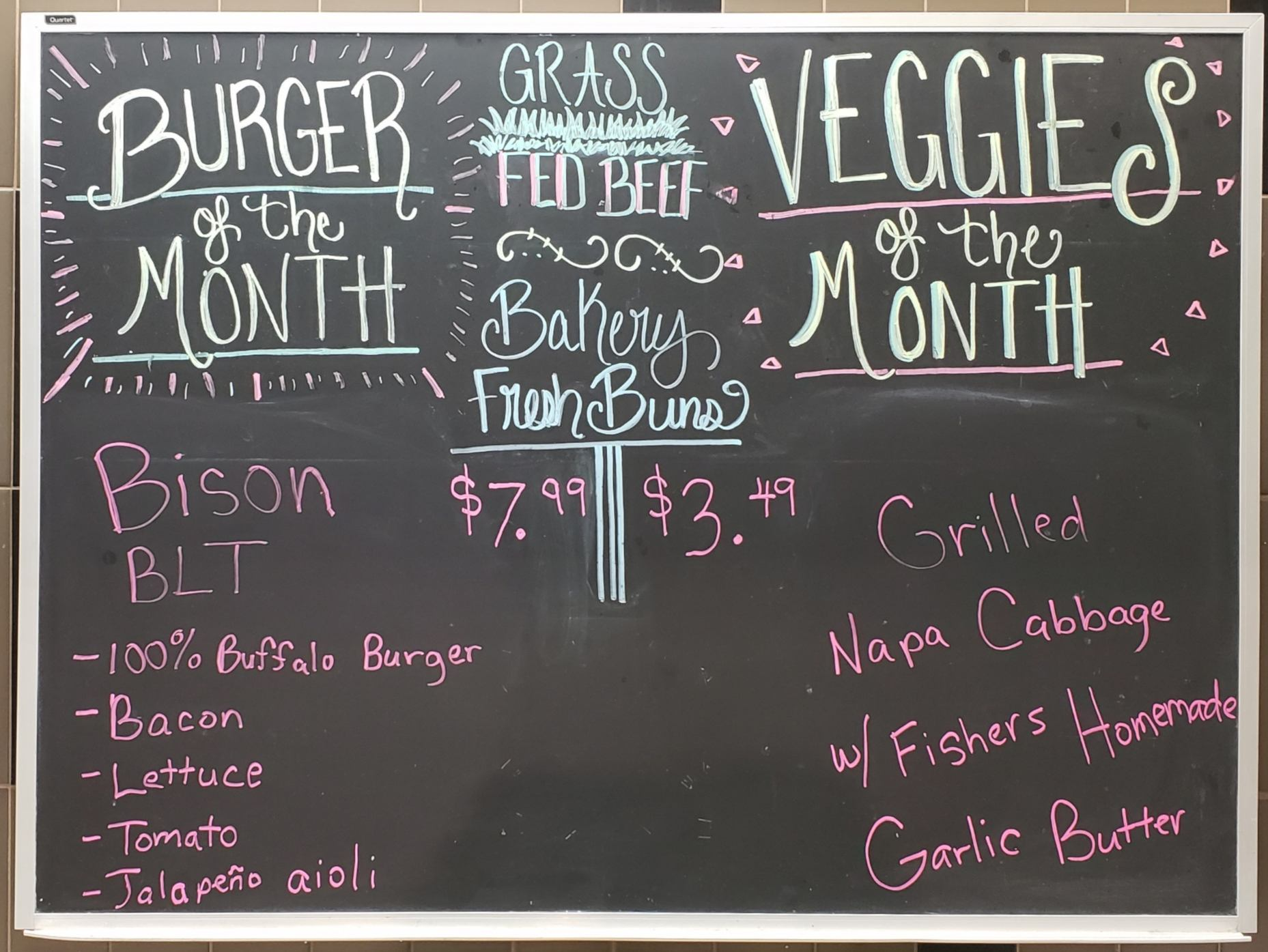 Bison BLT Burger